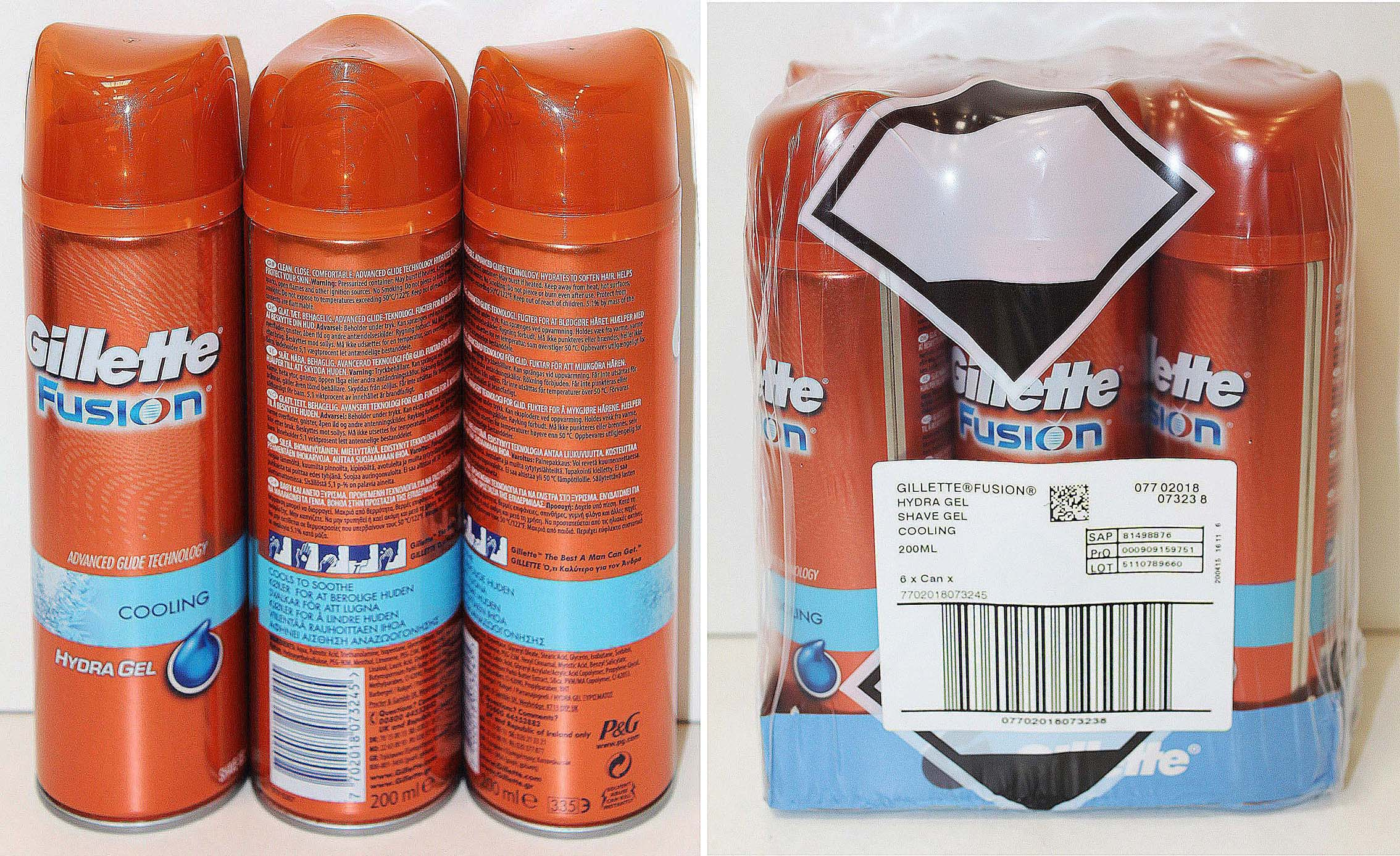9fea7c26b Fusion Gel Hydra Sensitive 200 ml. Fusion Gel Hydra Ultra 200 ml. Fusion  Gel Hydrate 200 ml